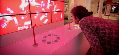 Interactive Beverage Bars - The Coca-Cola Mood Bar Will Quench Your Thirst for Knowledge