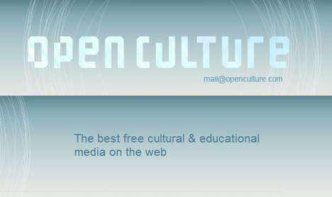 Tuitionless Ivy League Education - Open Culture Brings Classes to Your Desktop for Free