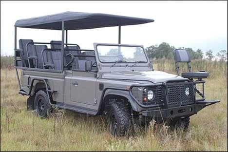 Eco-Friendly Safari Cars