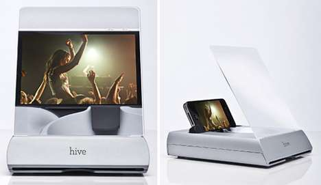 Magnifying Smartphone Stands
