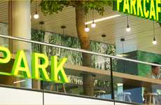 Indoor Airport Parks - The Schiphol Airport Park Allows Passengers to Relax Before Take-Off