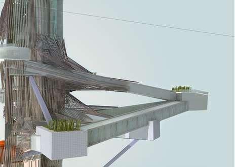 Fibrous Skyscraping Galleries