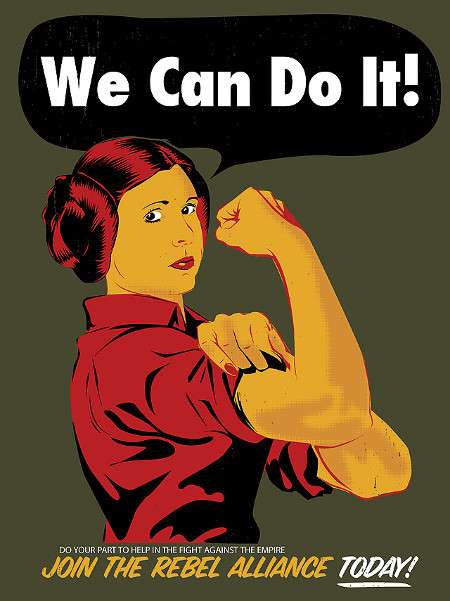 Rallying Sci-Fi Illustrations - Various Artists Create Star Wars Propaganda Posters