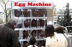 Chicken Vending Machines - The NOAH Egg Machine Shows the Plight of Chicken in Factory Farms