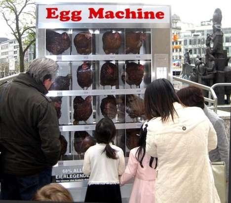 Chicken Vending Machines
