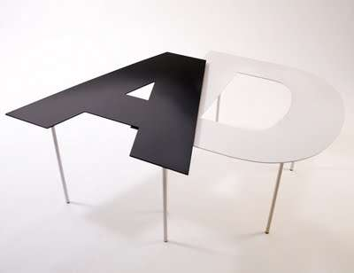 Fontable Tables Can Make Your Furniture Spell Out Any Word