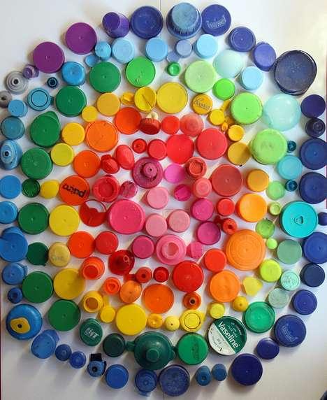 Recycled Spectrum Art