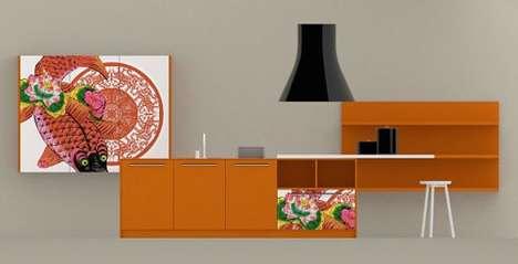 Graphic Design Sculleries