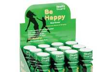 Mood-Boosting Beverages - Health Guard's 'Be Happy' Energy Shot Keeps You Going