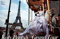 Opulent Parisian Celebritorials