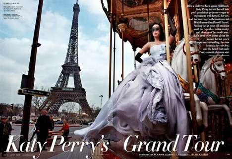 Opulent Parisian Celebritorials