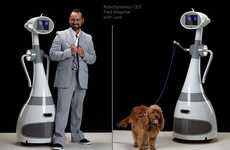 Robotic Dog Walkers - The Luna Personal Robot by SchultzeWORKS Will Take Your Pup Around the Block