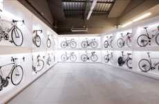 Museumlike Bike Shops - The Barcelona Pave Bicycle Store is Arranged Like an Art Gallery