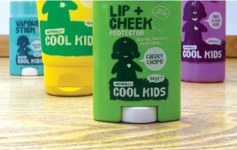 Bright Skin Care Branding - 'Naturally Cool Kids' Packaging Surpasses its Competition