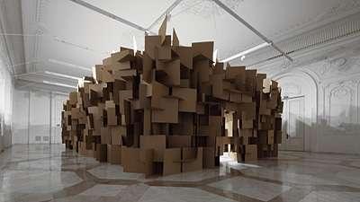Clustered Cardboard Soundscapes