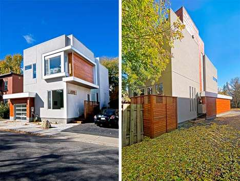 Geometric Residences - Toronto Design Firm LineBox Studio Creates the Contemporary Fold House