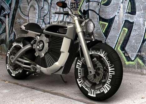 Intimidating Electro-Bikes