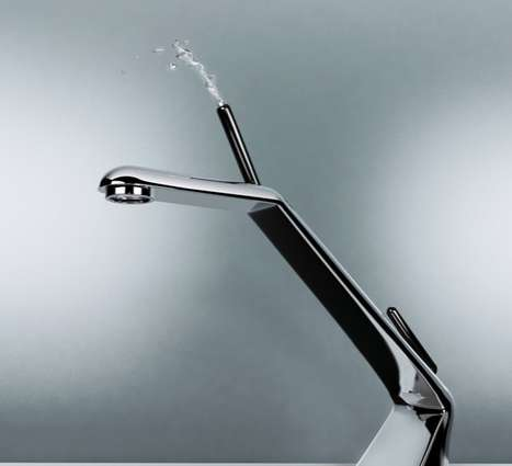 Drinking Fountain Faucets - Quench Your Thirst With the Nifty Water Fountain Tap by Neils van Hoof