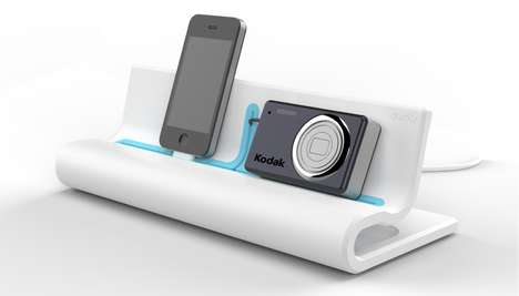 Multigadget Power Boosters - The Quirky Converge Charges Six Devices at Once