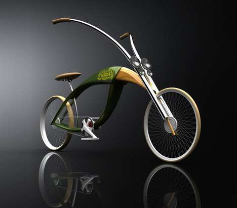 Insect-Inspired Bicycles - The Grass Chopper by Mateusz Chmura is Buggy but Beautiful