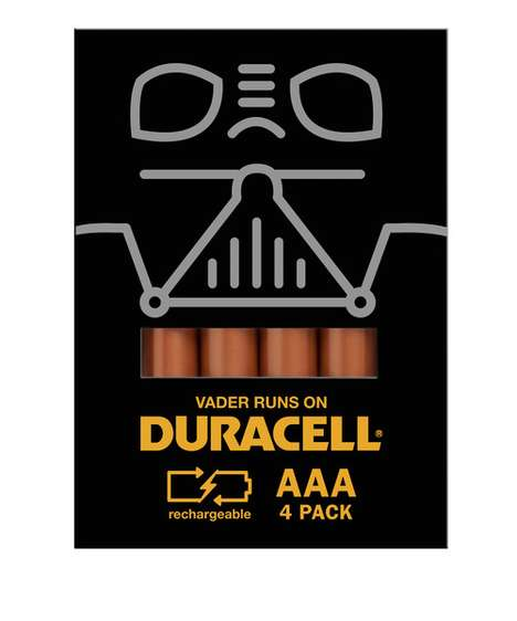 Spencer Bigum Integrates Pop Culture Characters into Duracell Battery Packs