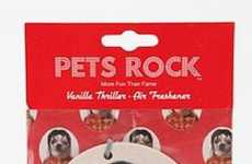Personified Pet Car Refreshers - 'Pets Rock' Air Fresheners Make Furry Friends Famous and Fragrant