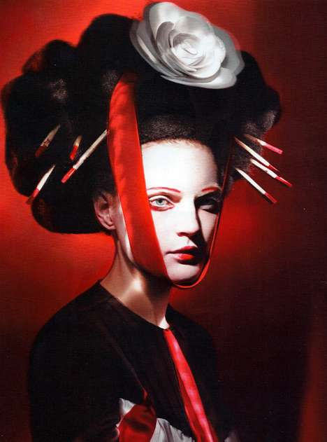 Gothic Geisha Editorials