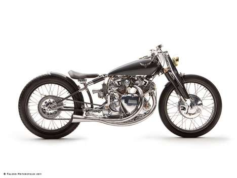 Classic Metal Motorcycles