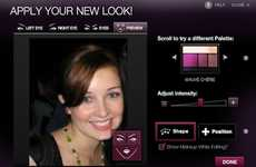 Intense Social Media Makeovers - The Lancome Facebook App Teaches You How to Overhaul Your Look