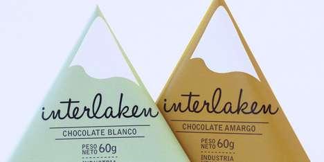 Mountainous Chocolate Packaging