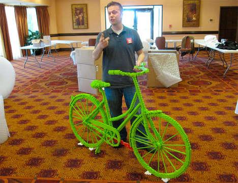 Lime LEGO Bikes