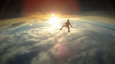 Stunning Slow Motion Skydives