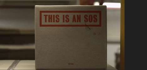 Inspiring SOS Films - Michael Cina's Creative Boxed Messages Show You How You Can Save People