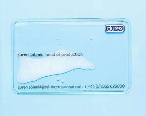 Semen-Enclosing Business Cards