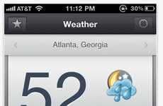 Simple Weather Apps - Shine for iPhone Gives You the Forecast at a Glance