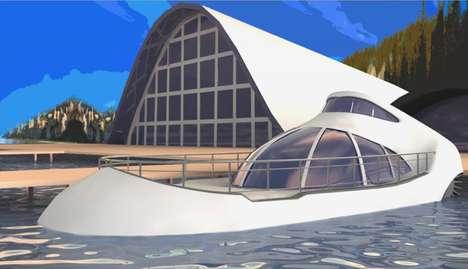 Futuristic Hybrid Boats