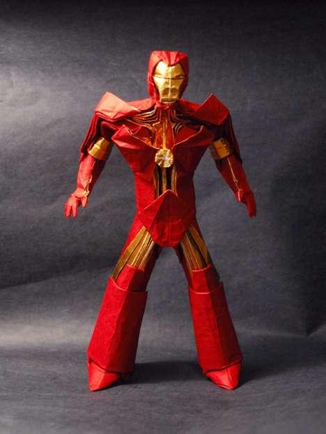 Super Heroic Papercrafts
