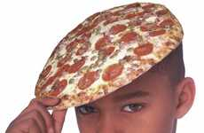 Adorable Pepperoni Hats - Now You Can Wear Your Favorite Food With the Pizza Beret