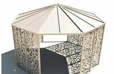 Princess Patio Pieces - Bysteel's Domito Gazebo Beautifies Lustre-Lacking Lawns