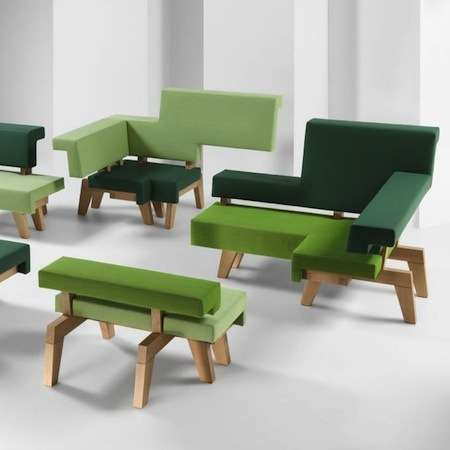 Fragmented Flexible Furniture - Worksofa Furniture Collection is Adaptable to Any Space