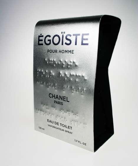 Braille Perfume Packaging