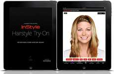 Extensive Hairstyling Apps - InStyle iPad App Allows You to Digitally Test Out Celeb Hairstyles