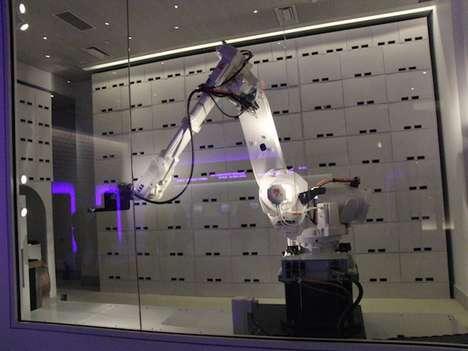 Robot Luggage Handlers