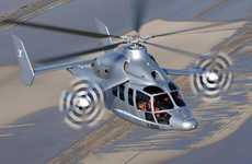 High-Speed Hybrid Helicopters - The Sprightly Eurocopter X3 Can Reach 267 Miles Per Hour