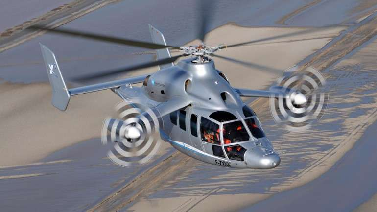High-Speed Hybrid Helicopters