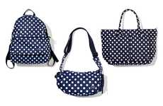 Popping Spotted Purses - Travel in Style with the Unisex Polka Dot Collection by Head Porter
