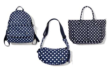 Travel in Style with the Unisex Polka Dot Collection by Head Porter