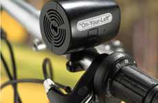 Mouthy Bike Alarms - The Verbal Bicycle Bell Will Make You the Cycling King of the Road