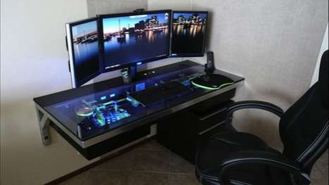 Built-In Computer Desks