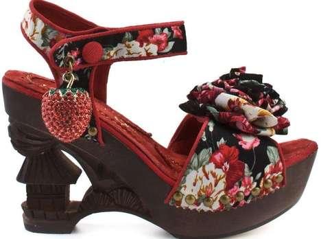 Modern Eastern-Inspired Heels